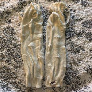 Hollister Knit Leg Warmers